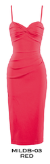 Stop Staring, RED MILLION DOLLAR BABY Dress, CLASSIC,  MLDB-03 RED