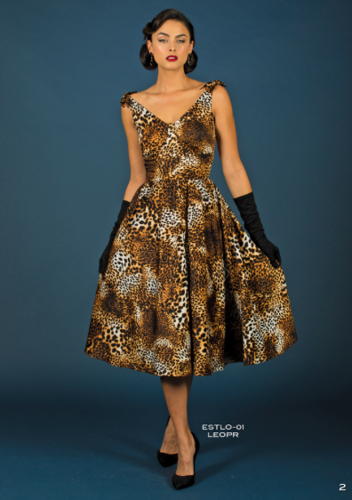 Stop Staring, ESTELLO Swing Dress, LEOPARD PRINT DRESS, Spring Summer 2017, ESTLO-01 LEOPR