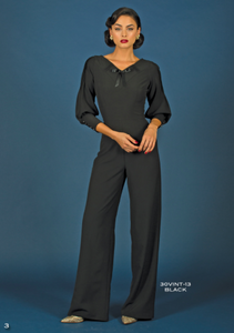 Stop Staring, Vintage Black Jumpsuit, Fall Winter 2016, 30VINT-13 BLACK