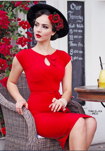Stop Staring, TIMELESS, Red Vintage Dress, TIMLS-03 RED, FALL WINTER 2018