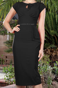 Stop Staring, TIMELESS Black, Vintage Dress, TIMLS -03  BLACK