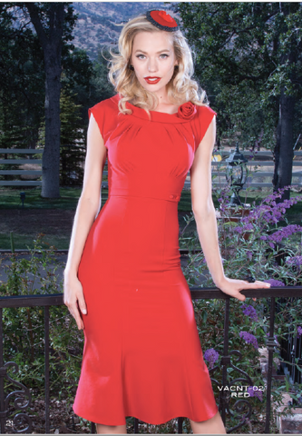 Stop Staring, VACNT Dress, RED Dress, VACNT-02 RED, SPRING SUMMER 2019