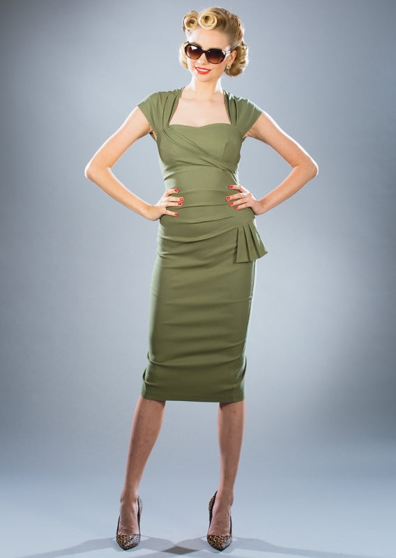 Stop Staring, UMA, Olive Green Dress, UMFD-03 OLVGN, FALL WINTER 2018