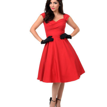 Stop Staring, MAD STYLE, RED Dress, MDSTYLE-01 RED, FALL WINTER 2018