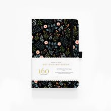 Load image into Gallery viewer, 160 pages Night Garden Dot-Grid Notebook by Archer and Olive