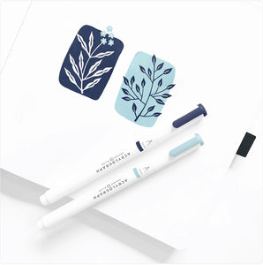 Archer & Olive Acrylograph Pens Tropical Collection - 3.0 mm tip