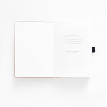 Load image into Gallery viewer, 160 pages Moon Flowers Dot Grid Journal by Archer & Olive