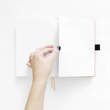 Load image into Gallery viewer, 160 pages Rose Gold Dot Grid Notebook by Archer & Olive