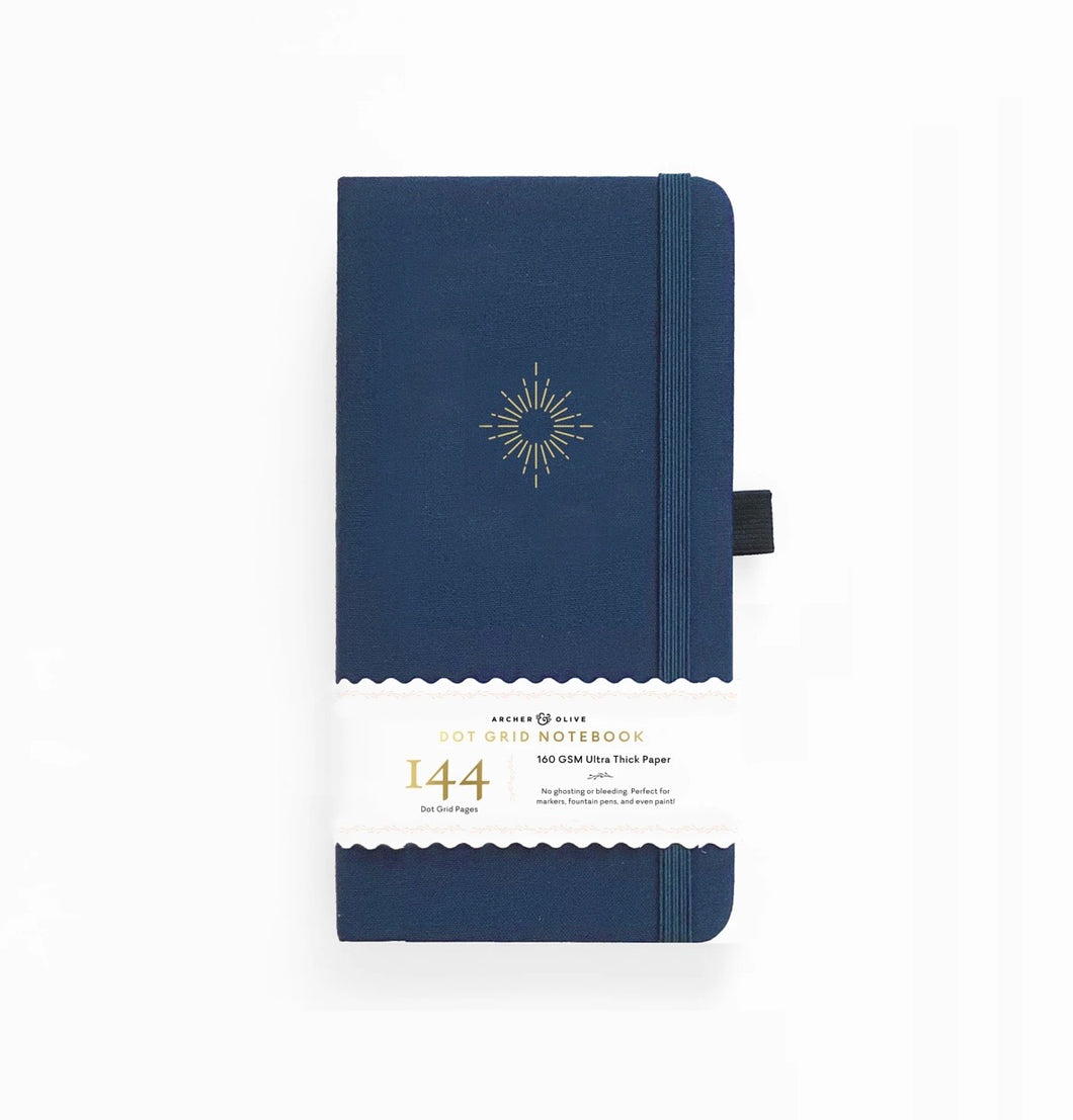 144 pages Traveler's North Star Dot-Grid Notebook by Archer & Olive