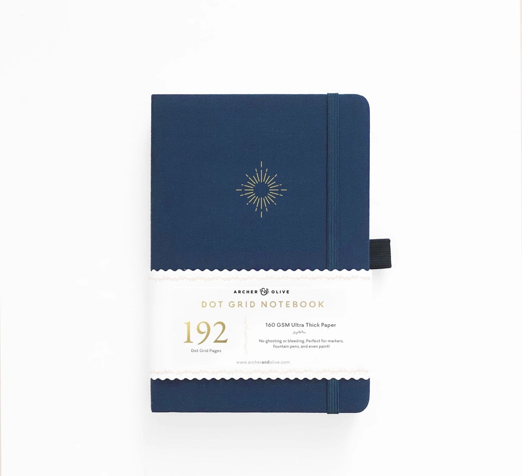 192 pages North Star Dot Grid Journal Archer & Olive