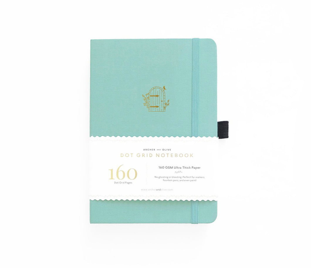160 pages Garden Door Dot Grid Journal by Archer and Olive