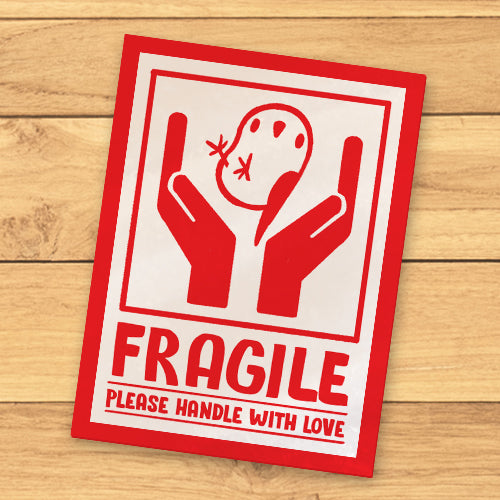 Fragile Mako Sticker