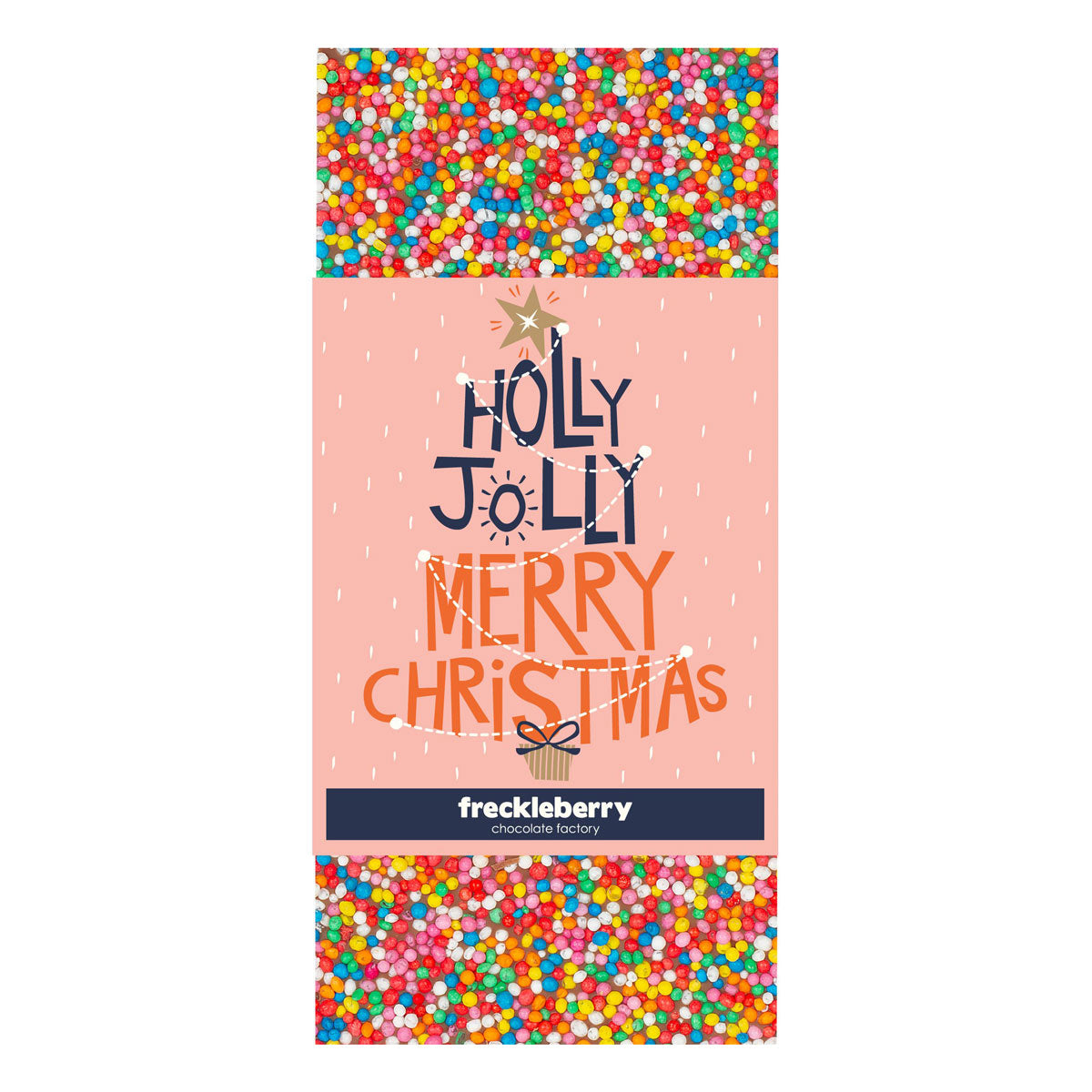 Holly Jolly Chocolate Block