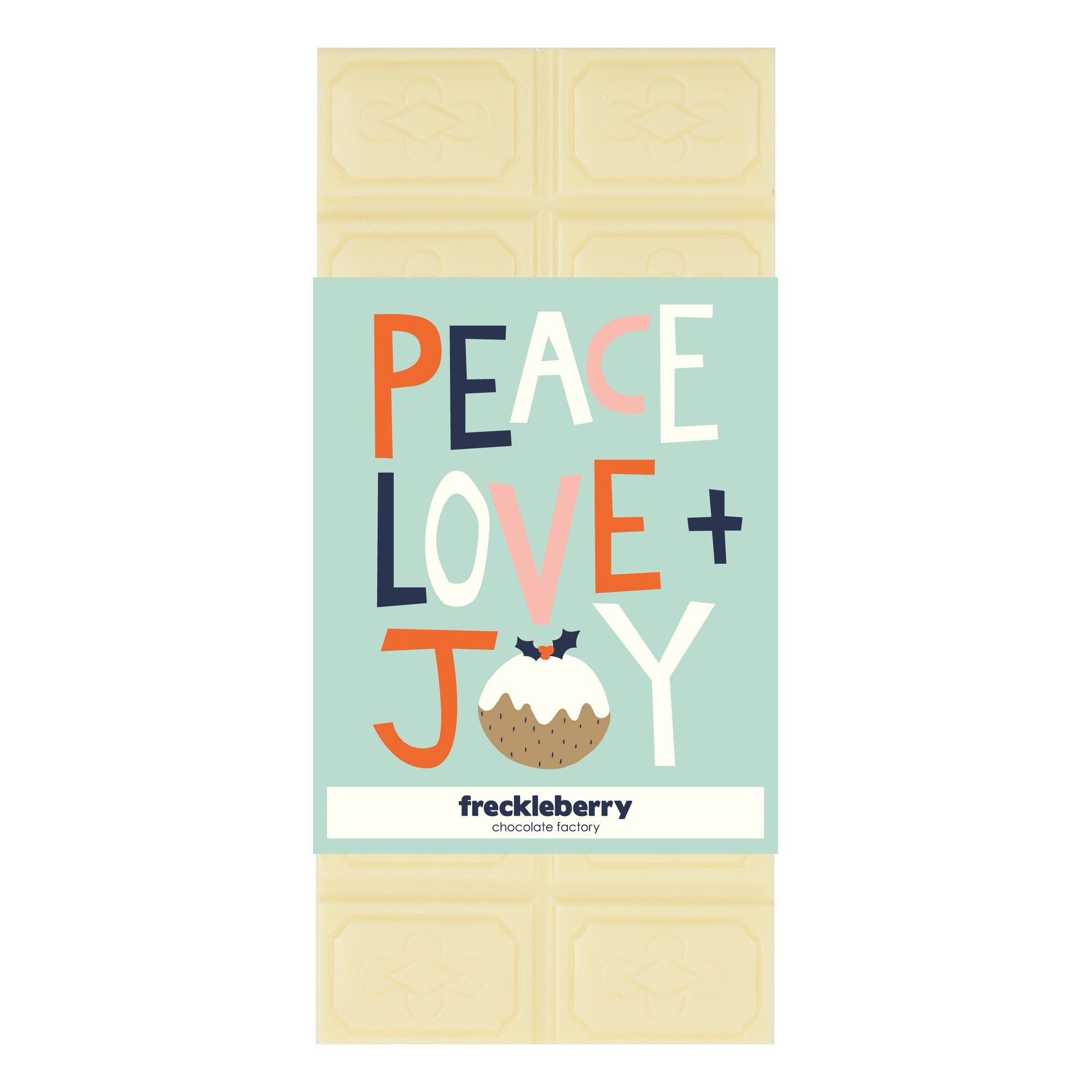 Peace & Love Chocolate Block