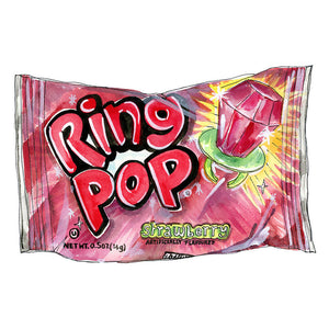 Ring Pop Signed Art Print