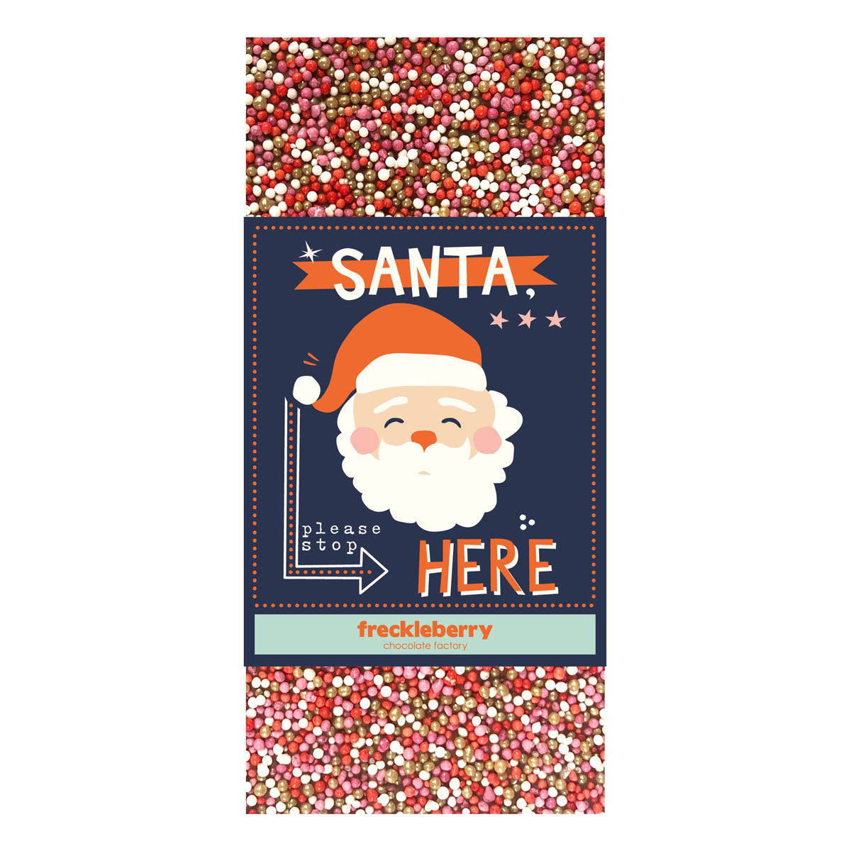 Santa Chocolate Block