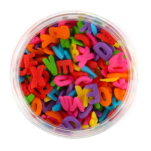 Rainbow Alphabet Sprinkles