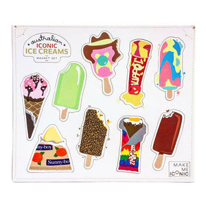 Aussie Ice Cream Fridge Magnets