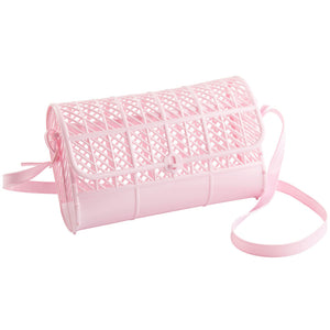 Retro Jelly Purse in Pink