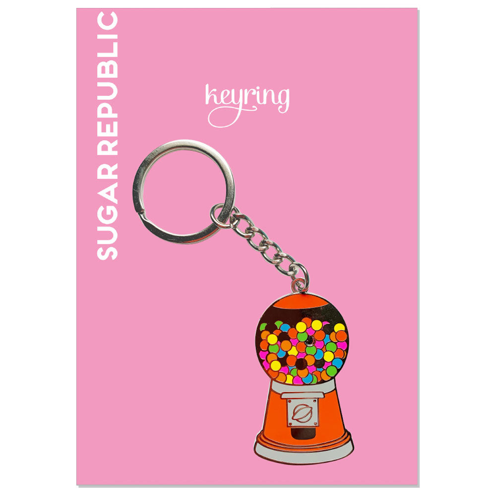 Gumball Machine Keyring