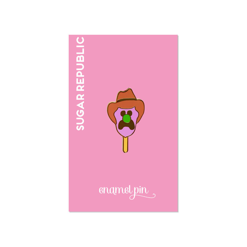 Bill Enamel Pin
