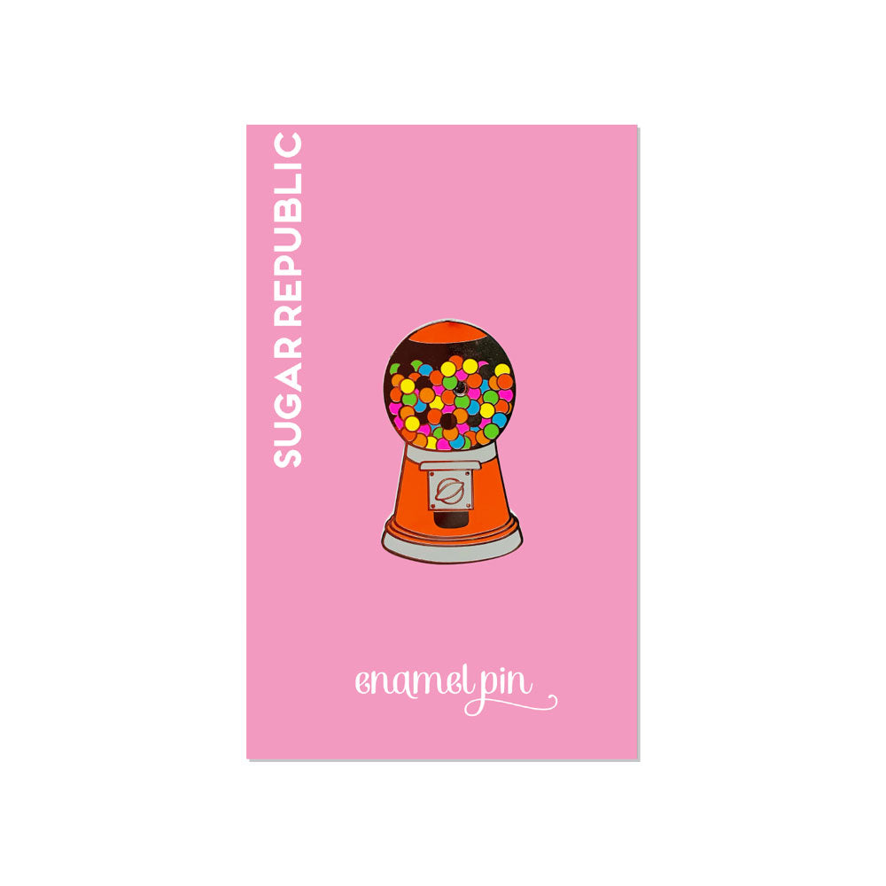 Gumball Machine Enamel Pin