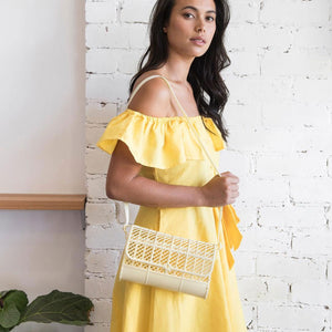 Retro Jelly Purse in Lemon