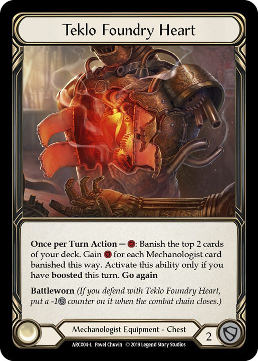 Teklo Foundry Heart