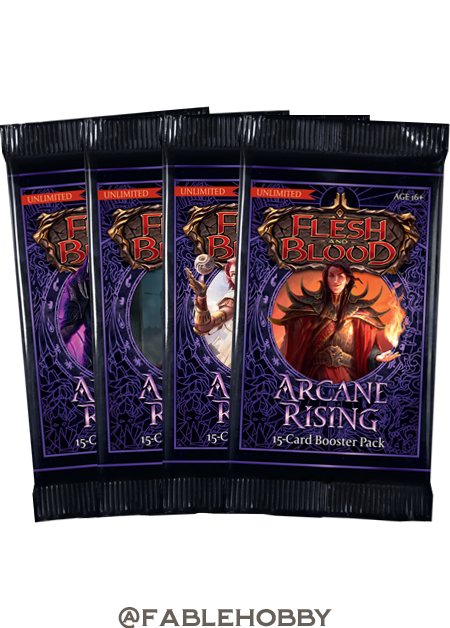 Arcane Rising Booster Pack [Unlimited]