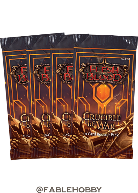 Crucible of War Booster Pack [First Edition]