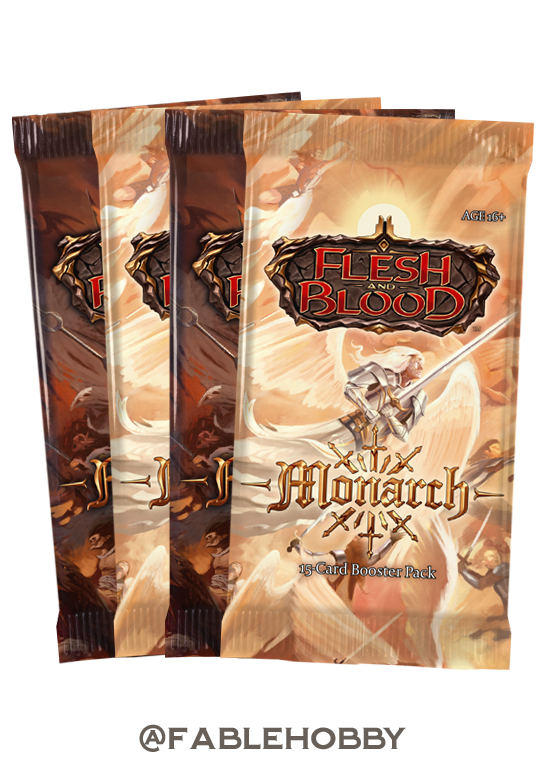 Monarch Booster Pack [First Edition]