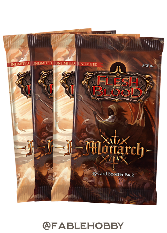 Monarch Booster Pack [Unlimited]