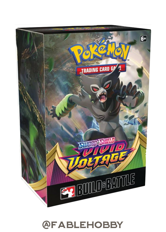 Pokémon Vivid Voltage Build & Battle Box