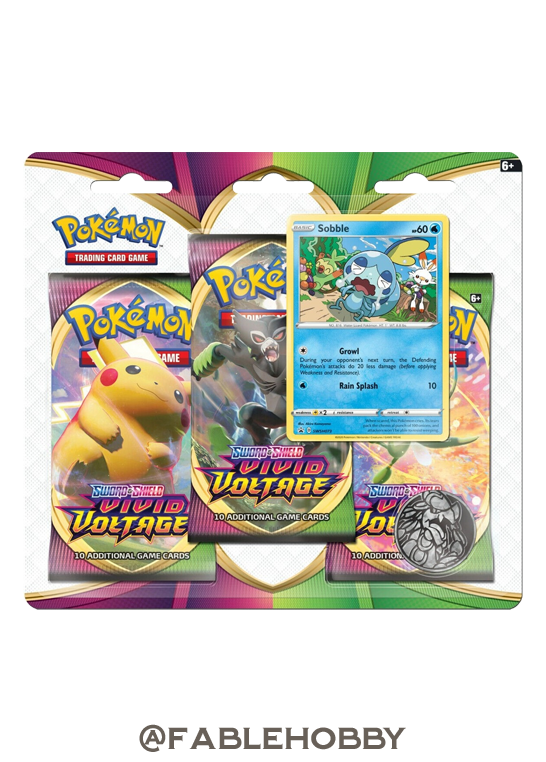 Pokémon Vivid Voltage Sobble Blister Pack