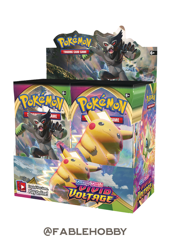 Pokémon Vivid Voltage Booster Box