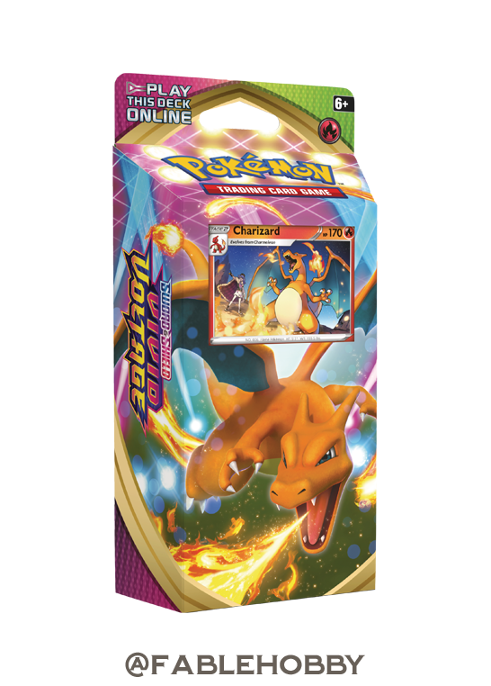Pokémon Vivid Voltage Charizard Theme Deck