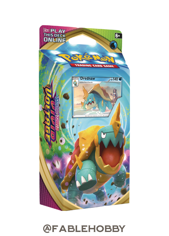 Pokémon Vivid Voltage Drednaw Theme Deck