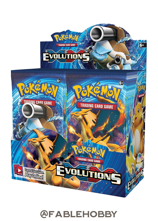 Pokémon XY-Evolutions Booster Box