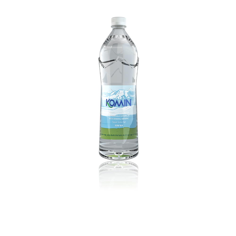 Komin Natural Mineral Water ( PET Bottle )