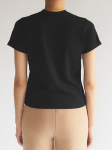Cut Out Cropped Tee