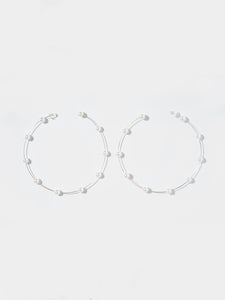 Pistil Hoop Earrings