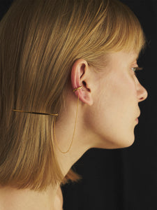 Ear Cuff With Hair Pin
