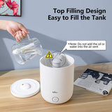 Cool Mist Humidifier 4.5L Top Filling, White (1.2