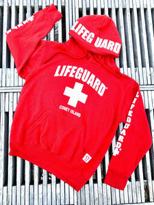 Lifeguard Hoodies- Red