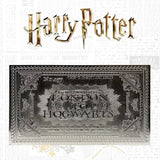 Silver-Ticket-Harry-Potter-Hogwarts-Limited-Edition-Plaque