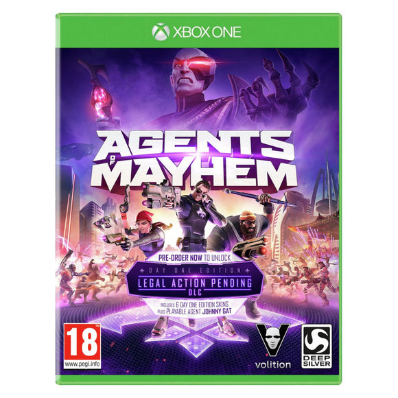 Agents of Mayhem - Day One Edition + Legal Action Pending DLC Xbox One