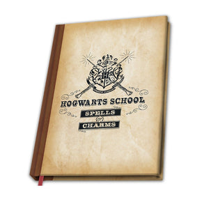 Notebook A5 Harry Potter Hogwarts School