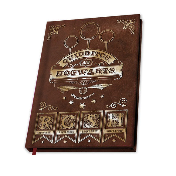 Notebook A5 Harry Potter Quidditch