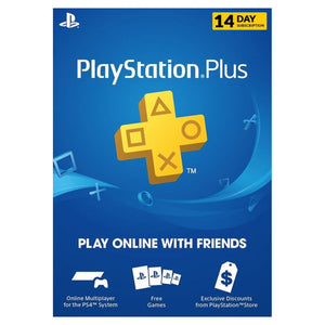 Sony PlayStation PSN Plus Card 14 days