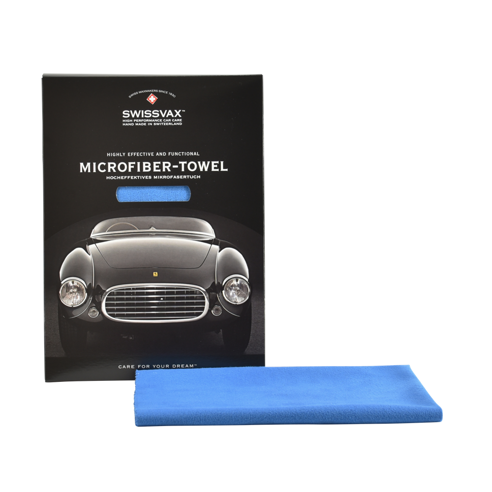 MICRO-POLISH microfiber polishing cloth, blue (for sat nav screens, instruments, glasses, waxes)